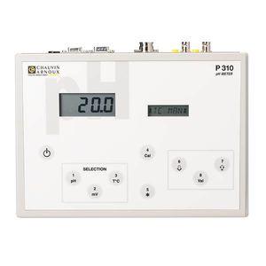 bench-top pH meter / laboratory / digital