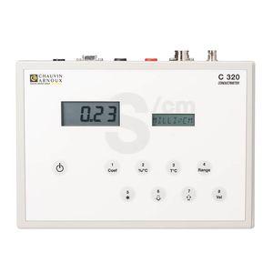bench-top conductivity meter / digital / laboratory