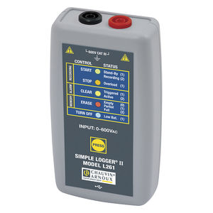 voltage data-logger / USB / without display / battery-powered