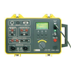 insulation tester / continuity / dielectric / for electrical equipment