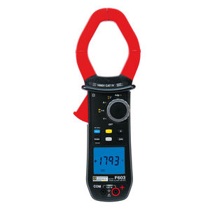 digital clamp multimeter / portable / 1000 V / 2000 A