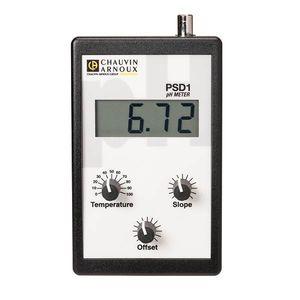 portable pH meter / laboratory / digital