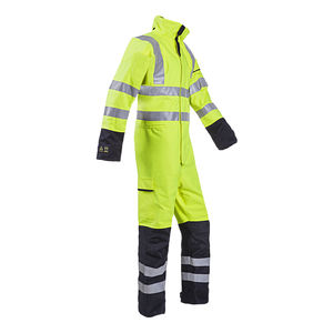 work coveralls / arc protection / fire-retardant / chemical protection
