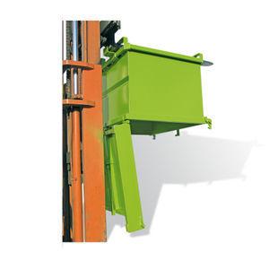 bottom-opening tilt truck