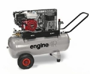 piston engine-driven compressor / mobile