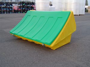 polyethylene crate / storage / grit / for sand