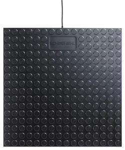 pressure-sensitive safety mat / anti-slip / polyurethane / modular