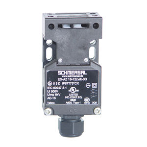 multipole switch / with separate actuator / double insulation / thermoplastic
