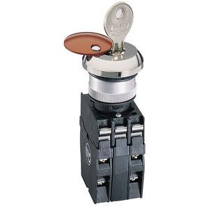key lock push-button / emergency stop / IP65