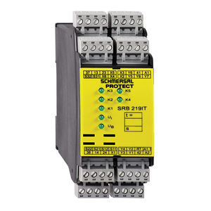 safety relay / time delay / multifunction / emergency stop