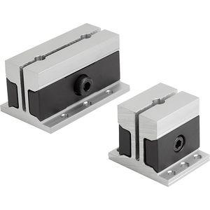 machine tool vise / manual / screw / precision