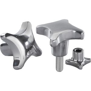 stainless steel nut / aluminum