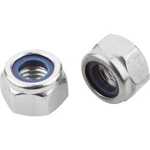 hexagonal nut / steel / stainless steel