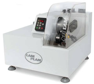metal cutting machine / rotary blade / sample / laboratory
