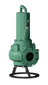 wastewater pump / electric / submersible / centrifugal