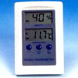 thermo-hygrometer with LCD display