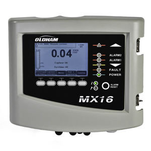 wall-mount gas detection control unit