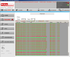 configuration software / data archiving / security information and event management / alarm