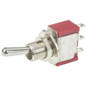 toggle switch / SPDT / panel-mount / miniature