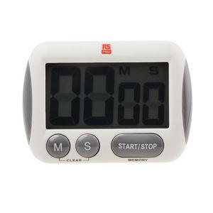 LCD clock / digital / 4-digit