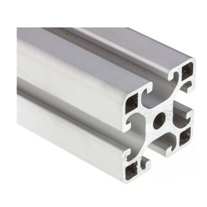 aluminum alloy profile / grooved / rectangular / lightweight