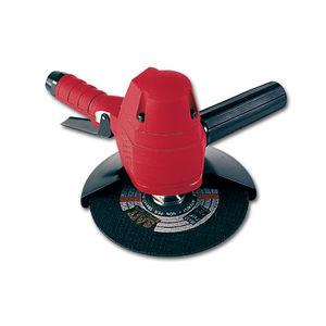 handheld cutt off grinder / pneumatic / industrial / vertical