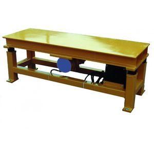 fresh concrete vibrating table