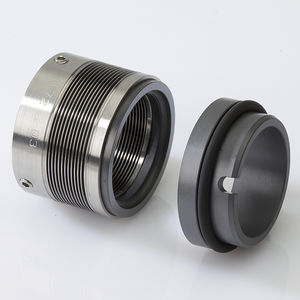 bellows mechanical seal / for centrifugal pumps / for corrosive liquids / carbon