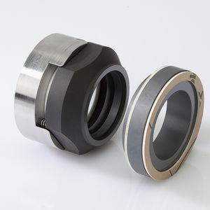 cartridge mechanical seal / for agitators / for corrosive liquids / carbon