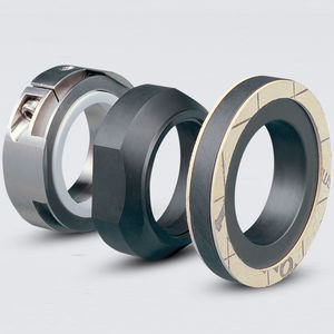 cartridge mechanical seal / for centrifugal pumps / for corrosive liquids / rubber