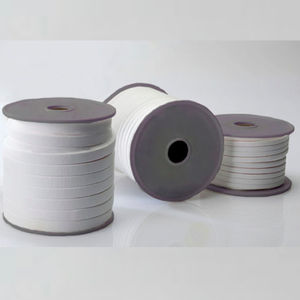 flat seal / circular / PTFE / ceramic