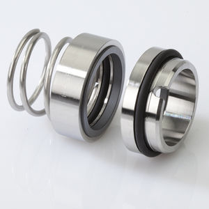 spring mechanical seal / for centrifugal pumps / for slurries / for corrosive liquids