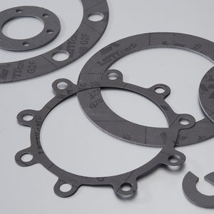 graphite gasket sheet / carbon / aramid / for chemical applications
