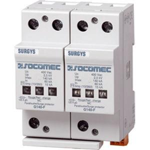 type 1 surge arrester / DIN rail / low-voltage