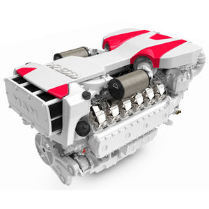 diesel engine / 12-cylinder / turbocharged / direct fuel injection