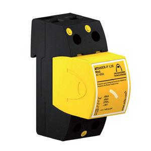 type 1 surge arrester / single-pole / DIN rail / low-voltage