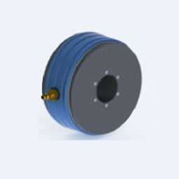 air cushion bearing unit / roller / aluminum / high-performance