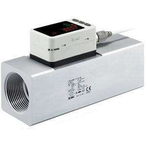 high flow rate flow meter