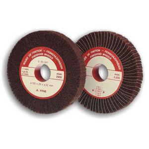 coated abrasive flap wheel / fabric