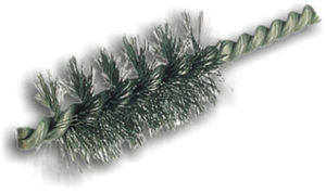 cylindrical spiral brush / cleaning / finishing / deburring