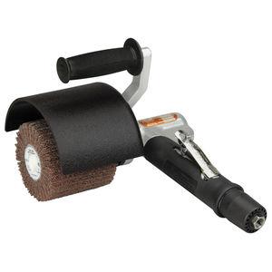 knotted wheel brush / finishing / polishing / metal
