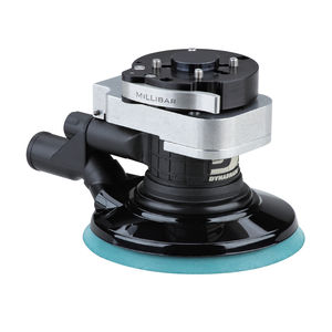 random orbital sander / pneumatic / central vacuum-compatible / for robots