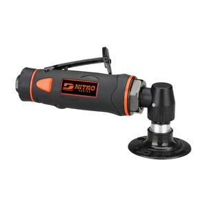 disc sander / angle / pneumatic / lightweight