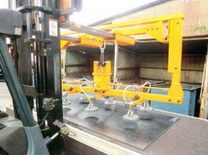 sheet metal vacuum lifting device