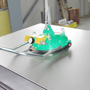 sheet metal vacuum lifting device / for heavy loads / horizontal