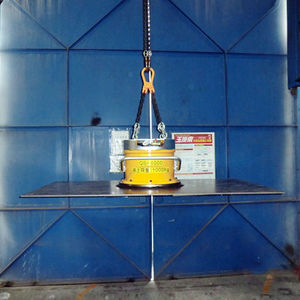 aluminum plate vacuum lifting device / for metal sheets / horizontal