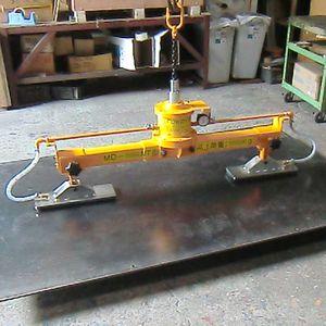 sheet metal vacuum lifting device / horizontal