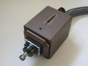 AC motor spindle unit