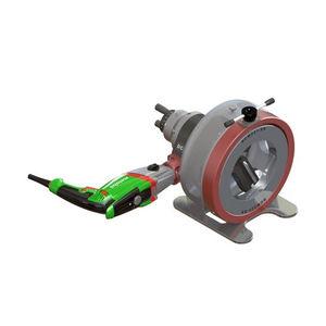 squaring chamfering machine / electric / portable / orbital