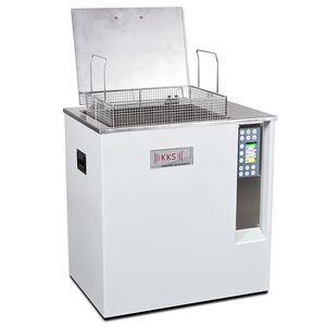 ultrasonic cleaning tank / rinsing / industrial / vertical